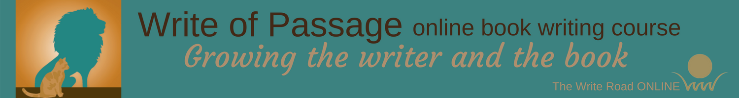 Write of Passage online book writing course