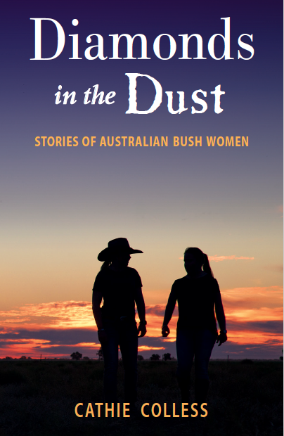 Diamonds in the Dust Cathie Colless cover